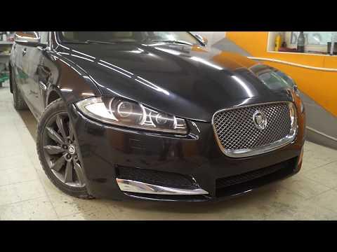 Компания 'МастерКрас'. ремонт и восстановление автомобиля Jaguar XF.