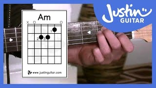 getlinkyoutube.com-The A minor Chord, Guitar Lessons For Beginners Stage 2 (Guitar Lesson BC-121)