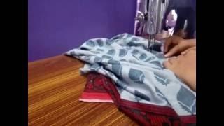 getlinkyoutube.com-churidar top (kameez) stitching malayalam