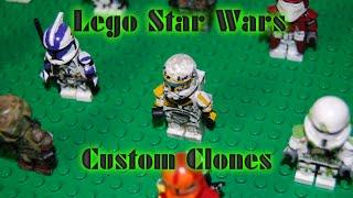 My LEGO Star Wars Custom Clone Troopers