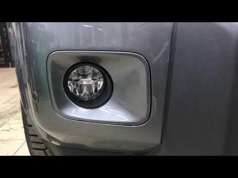 Honda Pilot Установка туманок mtf25