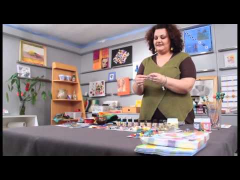 Art & Hobby Video: Κοσμήματα από Ύφασμα, Σύρμα και Ελαφρύ Πηλό