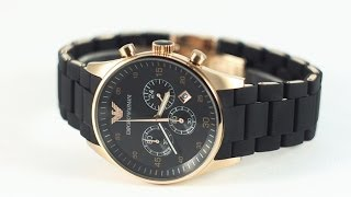 getlinkyoutube.com-часы Emporio Armani AR5905
