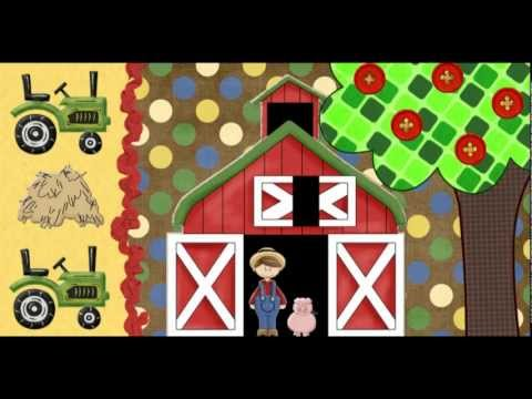 I See a Cow | Farm Animals Song | A Very Simple Song for Kids