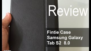 getlinkyoutube.com-Fintie Samsung Galaxy Tab S2 8.0 Smart Book Cover Case