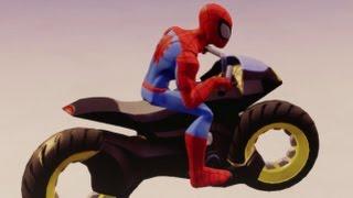 getlinkyoutube.com-Disney Infinity 3.0 - Toy Box Speedway - Grand Prix Battle Race #3 (250cc)