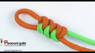 getlinkyoutube.com-2 color snake knot
