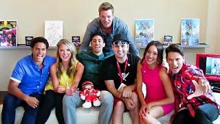 getlinkyoutube.com-Power Rangers Super Megaforce Cast Interview! SDCC (July 2014)