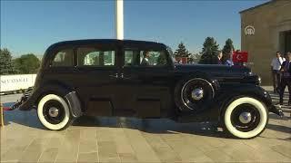 Atatürk'ün 1935 model otomobili yenilendi