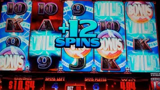 getlinkyoutube.com-Thor's Hammer Slot Machine Bonus + Retriggers - 42 Free Games with Random Wilds - NICE WIN