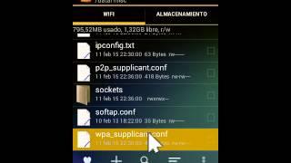 getlinkyoutube.com-Como Ver contraseñas de Wifi Guardadas Android |•Root