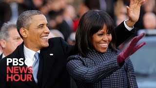 getlinkyoutube.com-President Obama and Family Leave for Capitol in Motorcade