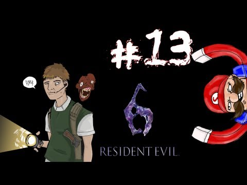 Resident Evil 6 - Prelude/Leon Campaign Walkthrough / Gameplay Part 13 - Aim and Ye Shall Receive