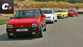 getlinkyoutube.com-Seat Ibiza: 30 Aniversario - Prueba comparativa coches.net / Análisis / Test / Review