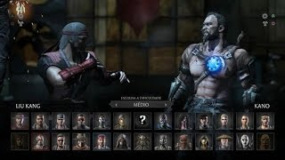 Mortal Kombat X: Liu Kang vs Kano Gameplay PT/BR (DUBLADO) PS4