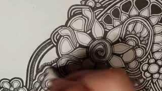 getlinkyoutube.com-Sandra draws an abstract thing: 1