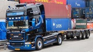 Jeffrey Hart Scania R500 V8 - Loud Pipes Saves Lives! HD