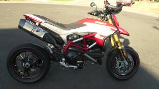 2016 TERMIGNONI DUCATI HYPERMOTARD 939 SP FULL RACE EXHAUST with-out db killer