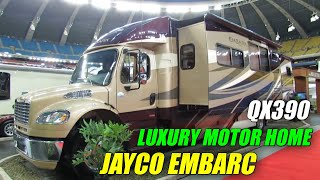 getlinkyoutube.com-2012 Jayco Embark QX390 MotorHome Exterior and Interior at 2012 Montreal Recreational Vehicle Show