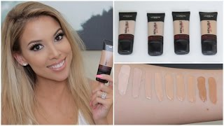 getlinkyoutube.com-L'Oreal Infallible Pro Matte Foundation | Review, Swatches, Tips | Lustrelux