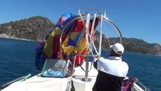 getlinkyoutube.com-PARASAILING BOAT OPENNIG PARASAILING www.enmamarine.com