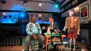 getlinkyoutube.com-Craig Ferguson 5/18/12D Late Late Show in Scotland Michael Clarke Duncan XD