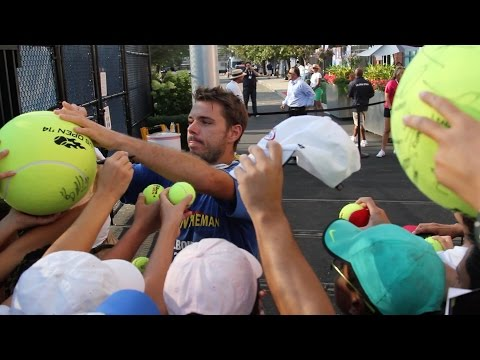 At U.S. Open, Watch Tennis, Get Autographs, Repeat