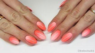 getlinkyoutube.com-Neon Gradient Nails - NeoNail -Playa Bonita & Lotus Flower- jak cieniować za pomocą pędzelka