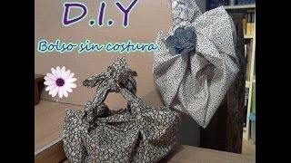 getlinkyoutube.com-DIY: A BAG WITHOUT SEWING (3 different styles) / Un bolso sin costuras