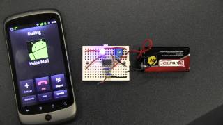 Cell Phone Detector - Detects when cell phone is active using simple OpAmp Circuit