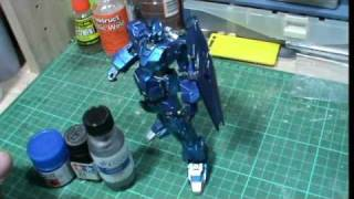 Gunpla Tutorial : Candy Effects using Alclad II Ch