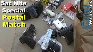 getlinkyoutube.com-Saturday Night Special, .25 acp Pistol Postal Match