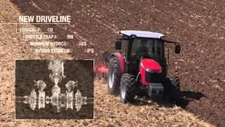 Massey Ferguson MF 4700 Series cab tractors