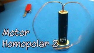 getlinkyoutube.com-El motor más simple del mundo  │ Motor homopolar 2 │ Experimento Fácil
