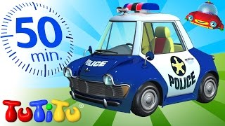getlinkyoutube.com-TuTiTu Specials | Police Car Toy | And Other Toys On Wheels | 50 Minutes Special