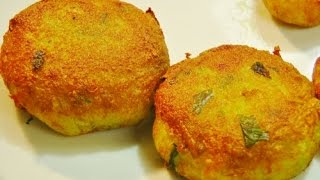 getlinkyoutube.com-Aloo Tikki - Indian Appetizer Recipe
