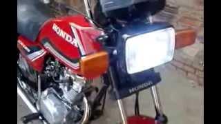 getlinkyoutube.com-Moto CG 125cc Honda Vermelha 1988 #2