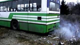 Odpalanie autobusów w ekstremalnych warunkach