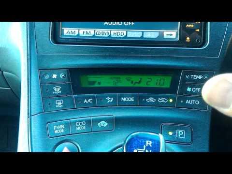 Климат контроль Prius 30
