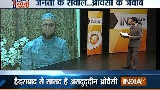 getlinkyoutube.com-Public Meeting: Asaduddin Owaisi Faces Public on Completion of 1-year of Modi Govt - India TV