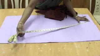 getlinkyoutube.com-Salwar cutting -- easy method.