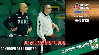 getlinkyoutube.com-Basket Coach: Contropiede e 1 contro 1 con lo Scandone Avellino di Frank Vitucci