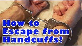 getlinkyoutube.com-How to Escape from Handcuffs!