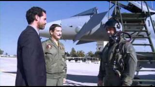 عرض لطائرة التايفون من قبل طيارين سعوديين ودول اخرى