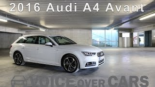 getlinkyoutube.com-2016 Audi A4 Avant Fahrbericht | Test | Review | Tech Check | Kofferraum