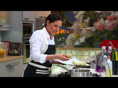 Choumicha : Croquettes de pomme de terre à la kefta et à la dinde fumée شميشة : أصابع مقرمشة بالدجاج
