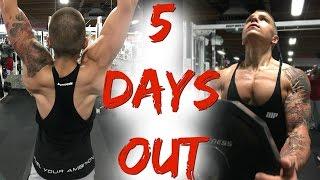 getlinkyoutube.com-Peak Week: INSANE Upper Body Workout! (5 Days Out)