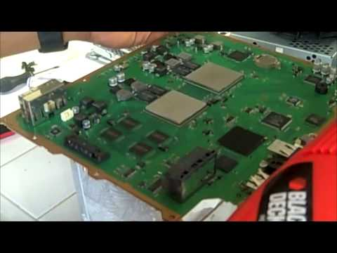 PS3 YLOD Step by Step FIX / Repair Part 3 of 4 HD