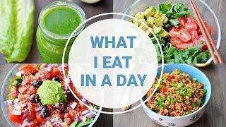 getlinkyoutube.com-What I Eat In A Day | HEALTHY VEGAN RECIPES