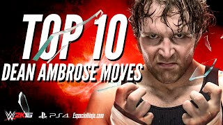 getlinkyoutube.com-Dean Ambrose Top 10 Moves | EspacioNinja.com Top 10 Moves series